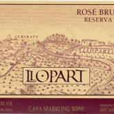 Llopart Leopardi Rose Brut Reserva  2013 Spanish Sparkling Cava Wine