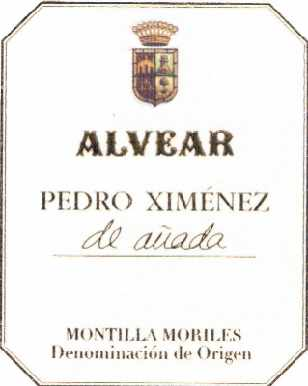 Alvear Pedro Ximenez de Anada 2014 Spanish  Dessert Wine375mL