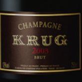 Krug Brut Champagne 2003 French Sparkling Wine