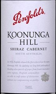 Penfolds Koonunga Hill Shiraz/Cabernet Sauvignon 2014 Red Austrailian Wine 750mL