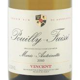 J.J. Vincent Pouilly Fuisse Marie Antoinette 2014 White Burgundy Wine