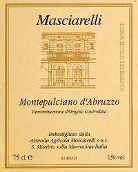 Masciarelli Montepulciano d'Abruzzo Red Italian Wine