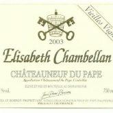 Elisabeth Chambellan Chateauneuf du Pape Vieilles Vignes Red Rhone Wine