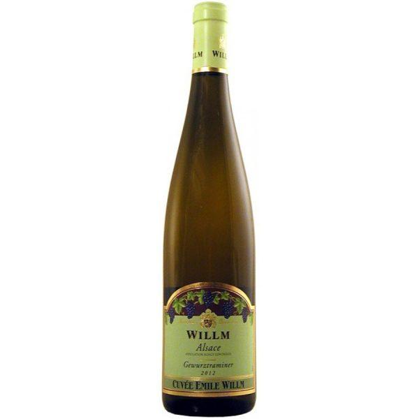 Willm Gewurztraminer Cuvee Emile Willm Reserve 2010 French White Wine