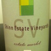 Shinn Estate Vineyards Merlot 2010 Long Island Red Wine 750 mL