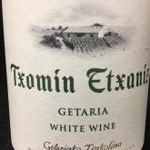 Txomin Etxaniz Getariako Txakolina Getaria Spanish White Wine 750mL