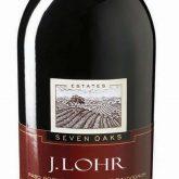 J Lohr Cabernet Sauvignon Seven Oaks Red California Wine