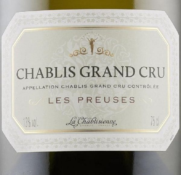 La Chablisienne Chablis Les Preuses Grand Cru 2013 White Burgundy Wine 750 mL