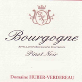 Huber Verdereau Bourgogne Rouge French Red Burgundy Wine 750 mL