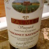 Palmer Vineyards Cabernet Sauvignon 2013 Red Long Island Wine 750mL