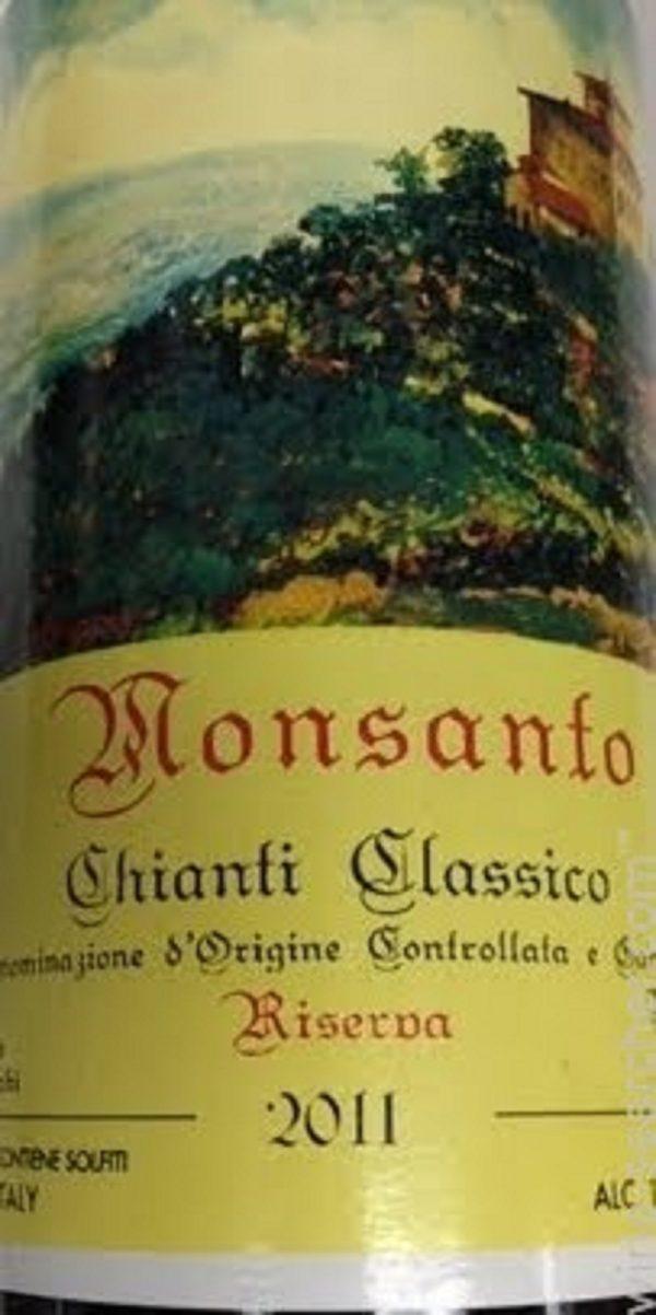 Castello di Monsanto Chianti Classico Riserva 2013 Italian Red Wine 750 mL