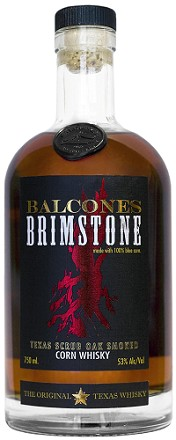 Balcones Distilling Brimstone Texas Scrub Oak Smoked Corn Whisky