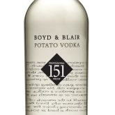Boyd & Blair Potato Vodka Profession Proof 151 Pennsylvania