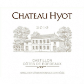 Chateau Hyot Castillon Cotes de Bordeaux 2014 Red Bordeaux Wine