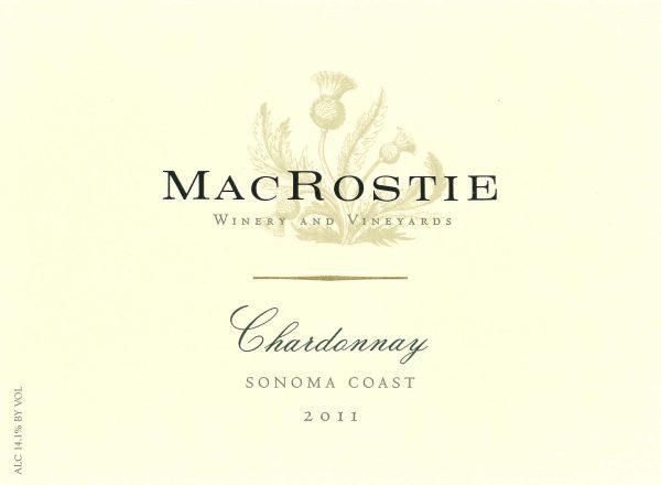 MacRostie Chardonnay Sonoma Coast 2012 White California Wine