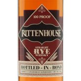 Rittenhouse Rye Whiskey Bottled in Bond 100 Proof