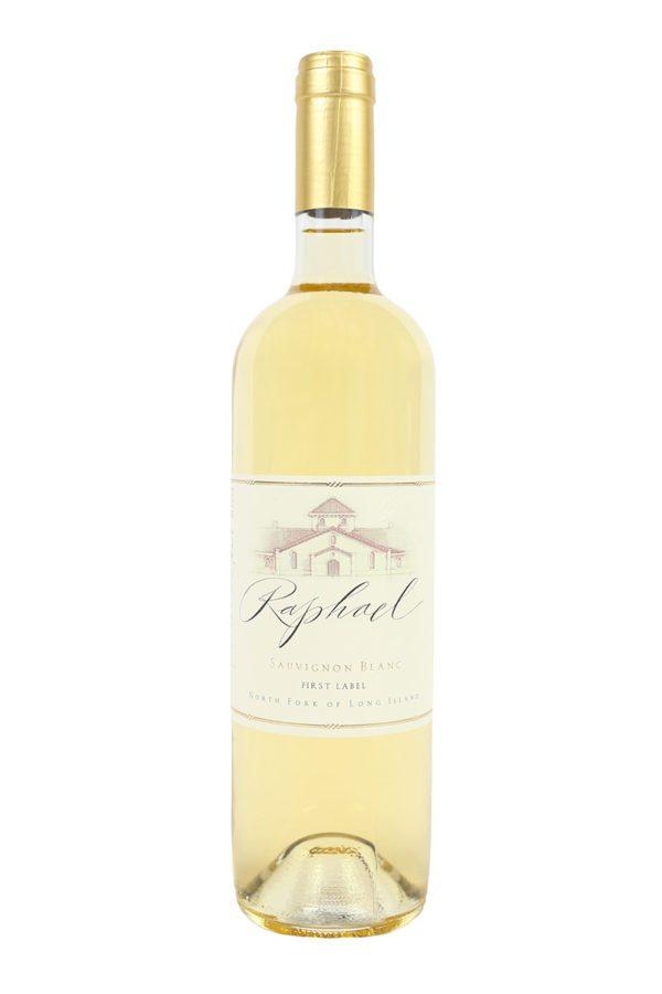 Raphael First Label Sauvignon Blanc 2014 Long Island White Wine 750mL