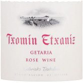 Txomin Etxaniz Txakoli de Guetaria Rose 2015 Spanish Basque Rose Wine 750 mL