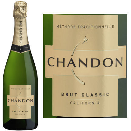 Domaine Chandon Brut Classic NV California Sparkling Wine