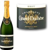 Canard-Duchene Brut Champagne Authentic 750 mL French Sparkling White Wine