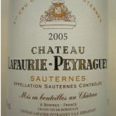 Chateau Lafaurie-Peyraguey Sauternes 2005 French White Dessert Wine 750 mL