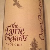 Eyrie Pinot Gris Estate 2012 White Oregon Wine