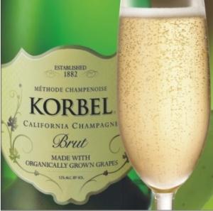 Korbel Brut Organic California Sparkling Wine