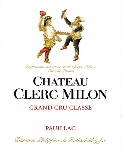 Chateau Clerc Milon Pauillac 2000 Red Bordeaux Wine