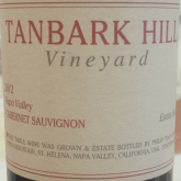 Philip Togni Cabernet Sauvignon Tanbark Hill Vineyard 2012 Red California Wine