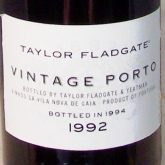 Taylor Fladgate vintage Port 1992 Portugese Red Dessert Wine 750 mL