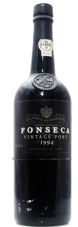 Fonseca Vintage Port 1994 Portugese Dessert Red Wine 750mL