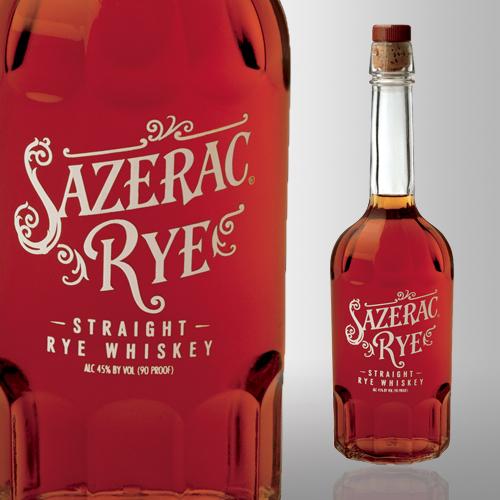 Sazerac Straight Rye Whiskey 90 proof 750 mL