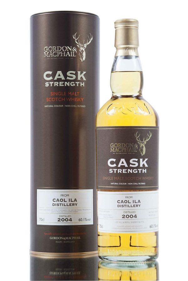 Gordon & MacPhail Caol Ila 2004 Old Cask Strength Single Malt Scotch Whisky 750 mL