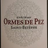 Chateau Ormes de Pez St.-Estephe 2009 Red Bordeaux Wine