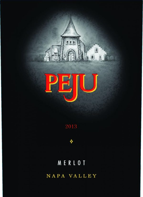 Peju Merlot Napa Valley 2014 California Red Wine 750 mL