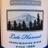 Washington Hills Riesling Late Harvest 2014 Washington State White Wine