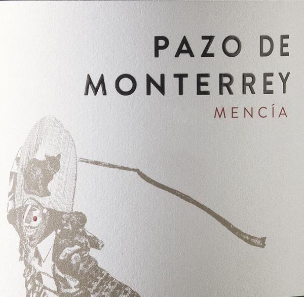 Pazos de Monterrey Mencia Spanish Red Wine 750 mL