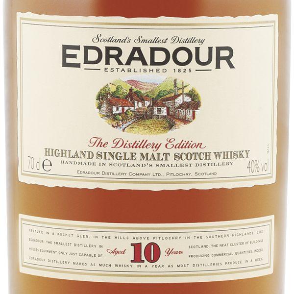 Edradour 10 Year Old Single Malt Scotch