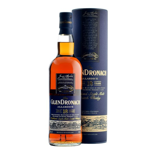 Glendronach Allardice 18 Year Old Single Malt Scotch Whisky 750 mL