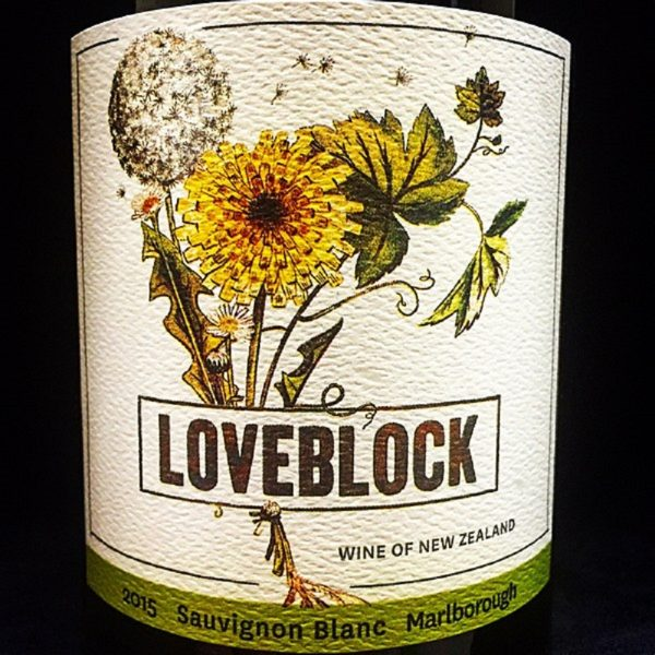 Loveblock Sauvignon Blanc Marlborough 2016 New Zealand White Wine 750 mL