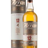 The Arran Malt 12 Year Old Cask Strength Proof 106.4 Single Malt Scotch 750 mL