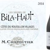 M. Chapoutier Les Vignes de Bila-Haut Cotes du Roussillon 2013 Villages Red French Wine