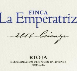 Bodega la Emperatriz Finca la Emperatriz Rioja Crianza 2011 Red Spanish Wine 750 mL