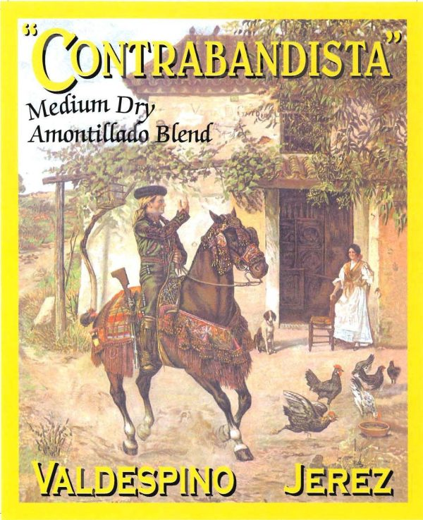 Valdespino Amontillado Medium Contrabandista