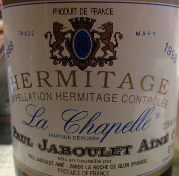 Paul Jaboulet Aine Hermitage La Chapelle 1998 Red French Rhone Wine