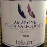 Le Salette Amarone della Valpolicella Classico Pergole Vece 2008 Italian Red Wine