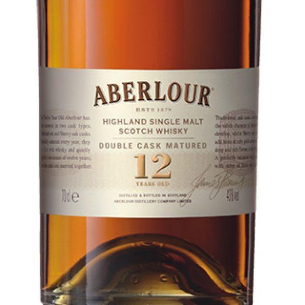 Aberlour Double Cask Matured 12 Year Old Single Malt Scotch Whisky 750 mL