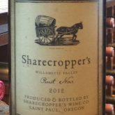 Owen Roe Pinot Noir Sharecroppers 2015 Red Oregon Wine 750 mL