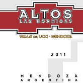Altos Las Hormigas Malbec Valle de Uco Terroir 2015 Argentina Red Wine