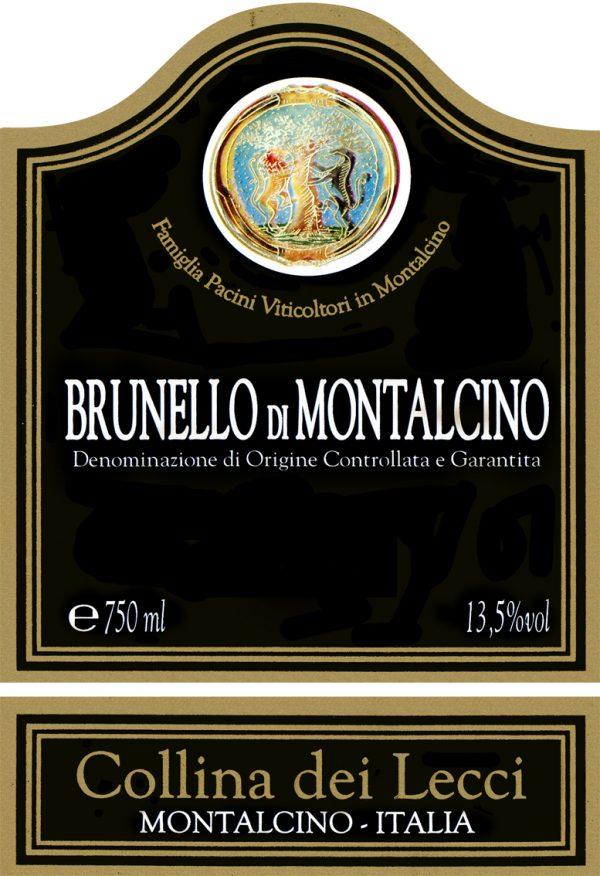 La Collina dei Lecci Brunello di Montalcino 2008 Italian Red Wine
